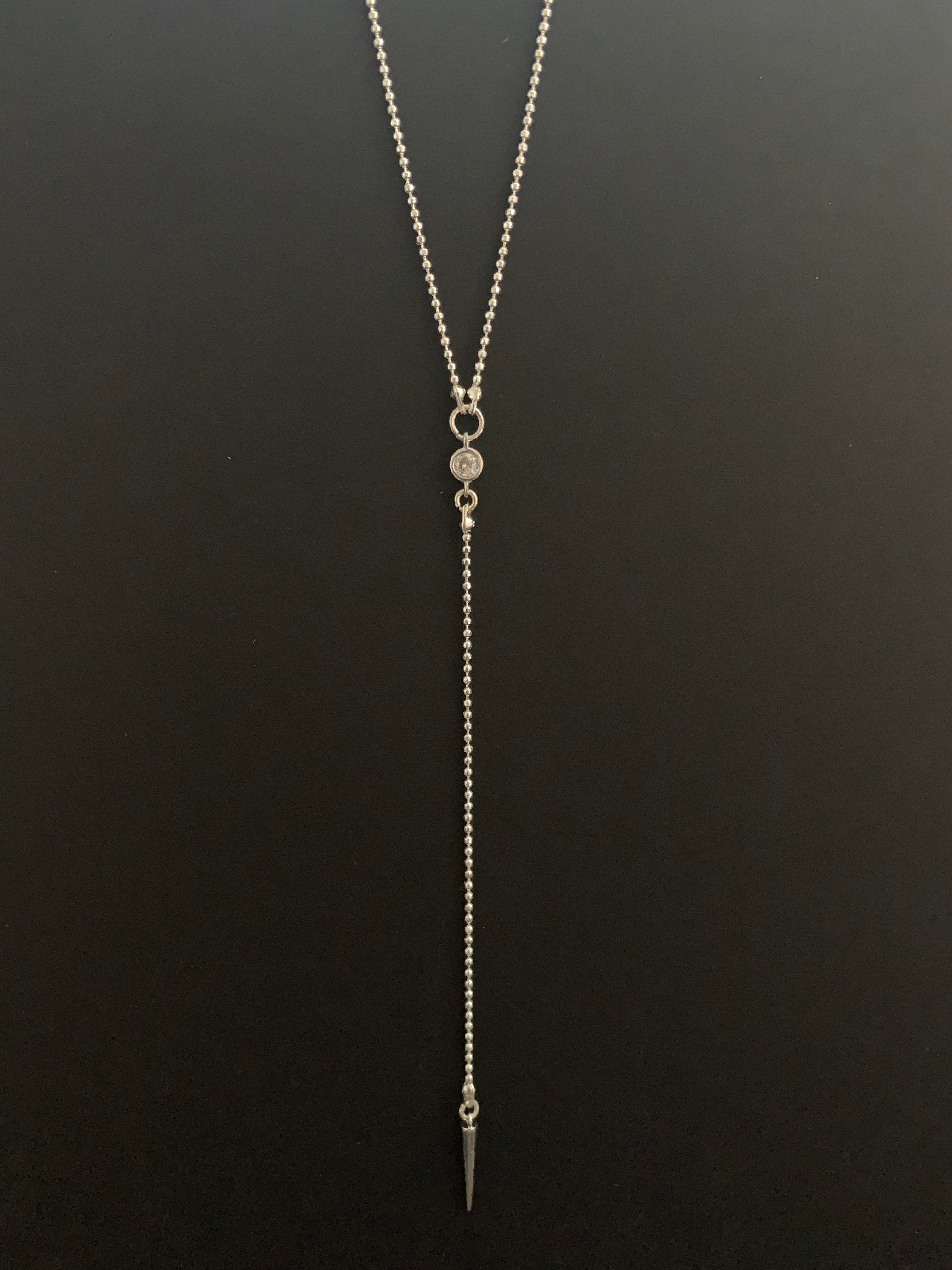 Dina Silver Layered Necklace