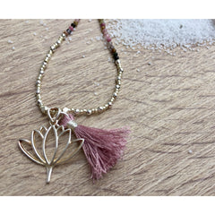 Lotus Bohemian Necklace - Nifty Sparkles