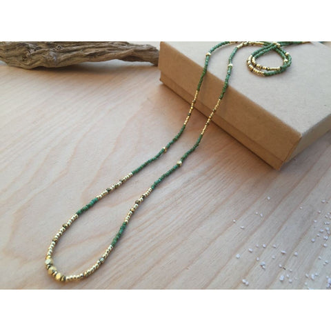Aura Lariat Necklace