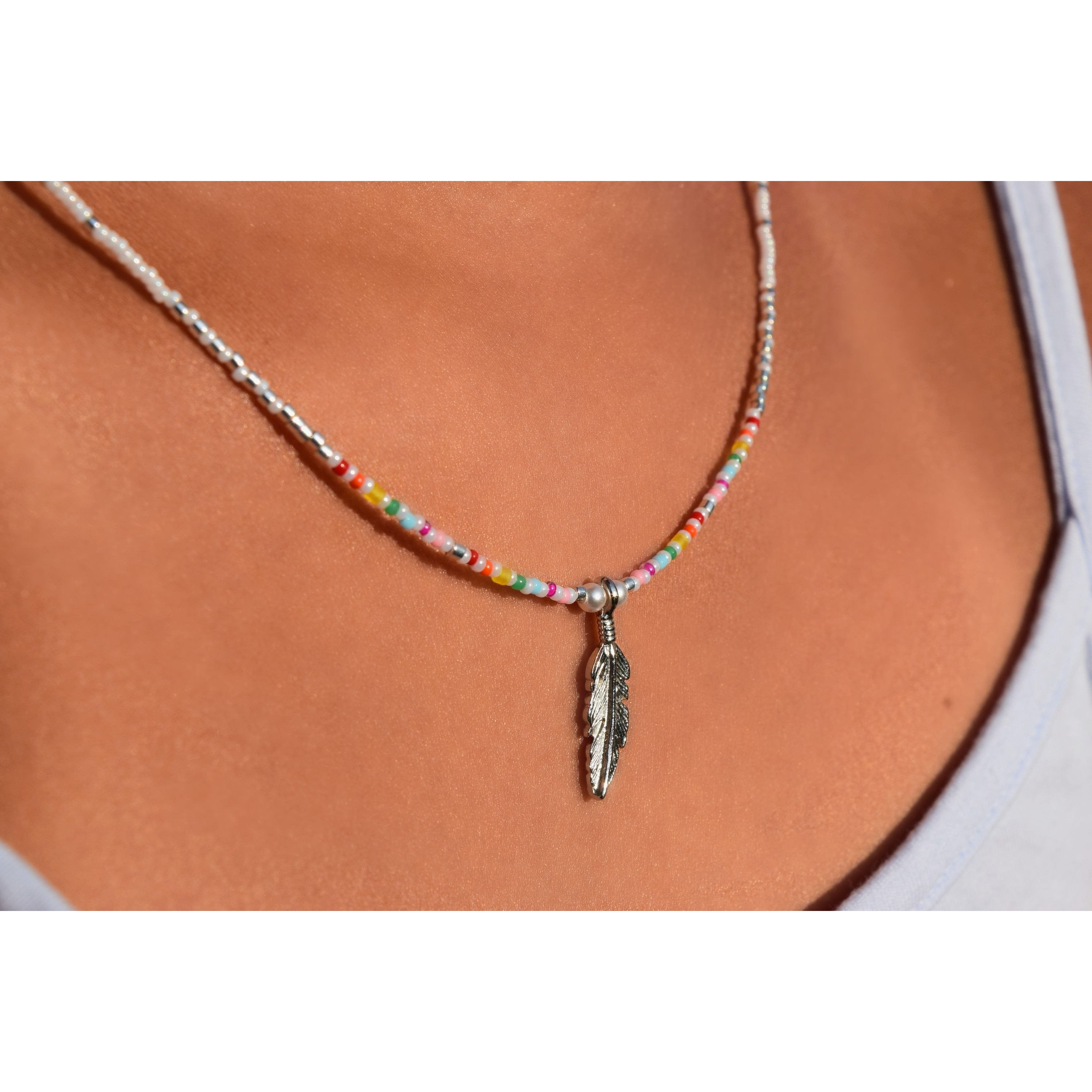 Rainbow Necklace - Nifty Sparkles