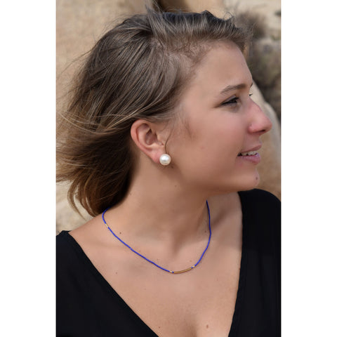 Severine Blue Necklace