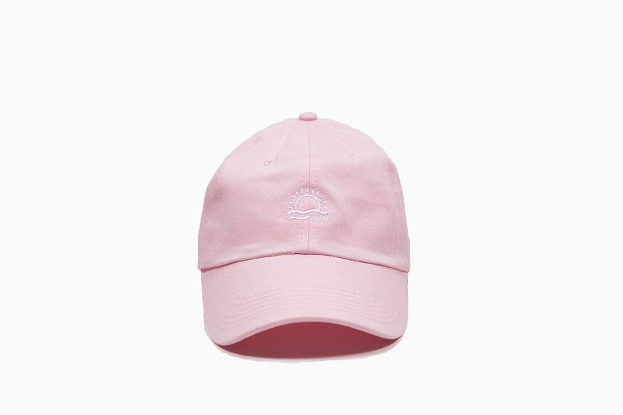 Pink Sunrise Dad Hat