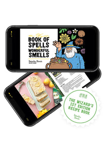 The Book Of Spells & Wonderful Smells (Recipe eBook Edition 1) - Botanika Blends