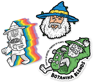 Limited Edition Wizard Sticker Pack - Botanika Blends