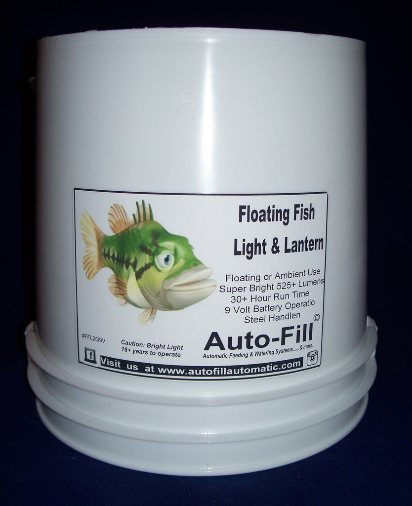 Floating Fish Light