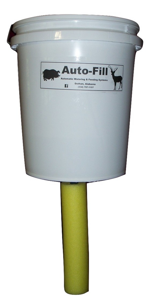 Auto-Fill© Deer Hog Bump Style Gravity Feeder 5 Gallon