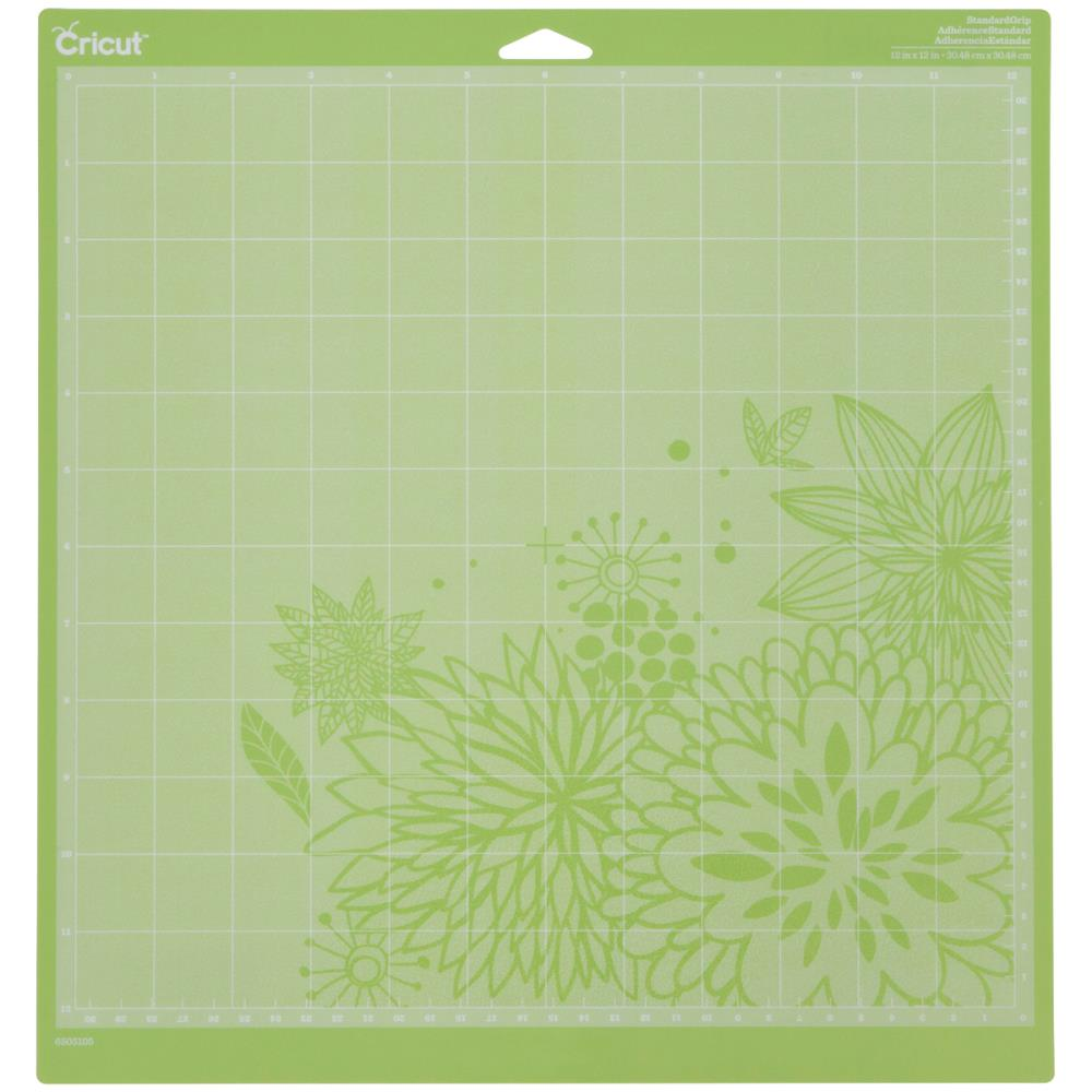"Cricut Cutting Mats 12""X12"" 2/Pkg, This multi-purpose mat is perfect for a wide range of medium weight materials, including patterned paper, vinyl, iron-on and cardstock. This package contains two 12x12 inch standard grip cutting mat. Imported,"