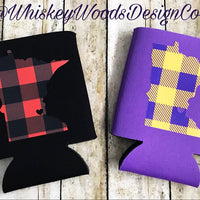 Purple and yellow-gold buffalo plaid craft vinyl sheet - HTV -  Adhesive Vinyl -  lumberjack plaid HTV1837