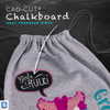 stahls cad-cut chalkboard heat transfer vinyl , black board htv yard