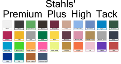 Stahls CAD-CUT® Premium Plus High-Tack Heat Transfer Vinyl 20