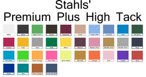"Stahls CAD-CUT® Premium Plus High-Tack Heat Transfer Vinyl 20"" x 1 yard roll"