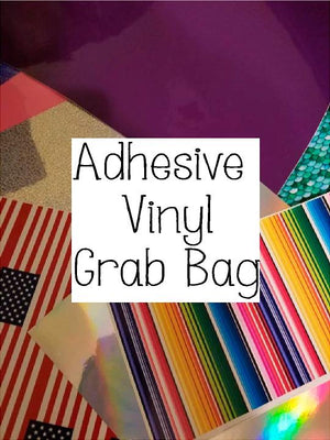 Scrap Bag of Adhesive Vinyl - 1 pound