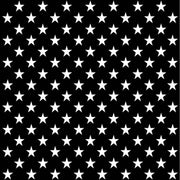 Black with white large stars craft  vinyl sheet - HTV - Adhesive Vinyl - star pattern HTV2451 - Breeze Crafts
