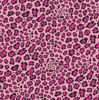 Pink Leopard print craft patterned vinyl sheet, heat transfer/HTV or Adhesive Vinyl, pink and black cheetah, animal print vinyl  HTV2