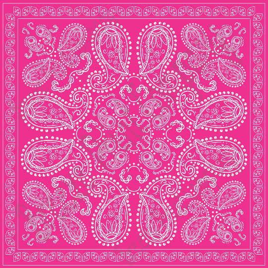 magenta bandana pattern vinyl, hot pink vinyl, printed vinyl, bandana patterned vinyl, vinyl sheets, craft vinyl, pink and white