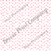 Red, pink and white triangle craft vinyl printed sheet - HTV - Adhesive Vinyl - Valentine's HTV3754 modern