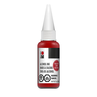 Marabu Alcohol Ink - Cherry Red - 20 milliliters