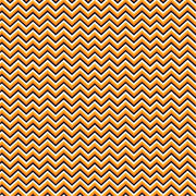 Black, orange, yellow-orange and white mini chevron craft  vinyl - HTV -  Adhesive Vinyl -  zig zag pattern HTV1546 - Breeze Crafts