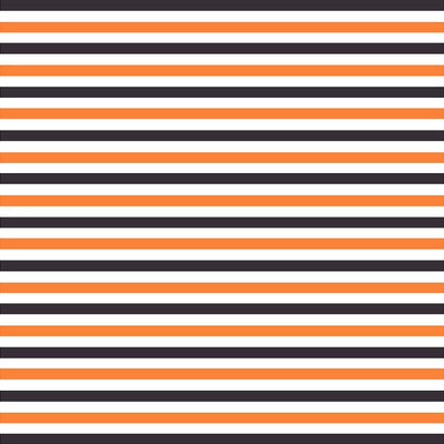 Black, orange and white stripe craft  vinyl sheet - HTV -  Adhesive Vinyl -  stripe pattern HTV3017 - Breeze Crafts