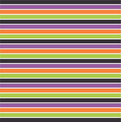 Black, purple, green, orange and white stripe craft  vinyl sheet - HTV -  Adhesive Vinyl -  stripe pattern HTV3023 - Breeze Crafts