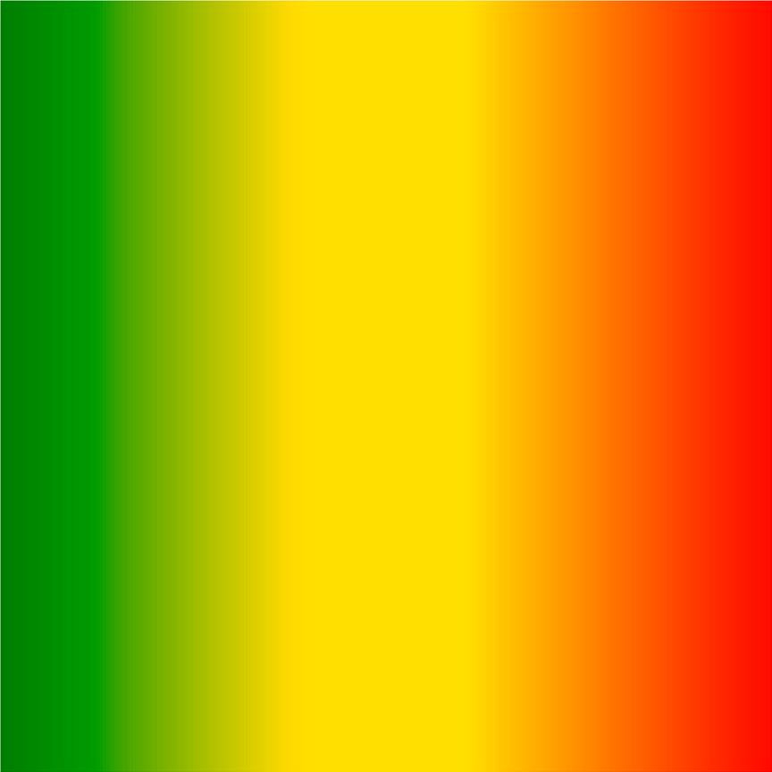 Green Yellow And Red Ombre Print Craft Vinyl Sheet Htv