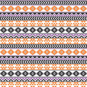 Black, purple, white and orange tribal pattern craft vinyl - HTV -  Adhesive Vinyl -  Aztec Peruvian pattern HTV943 - Breeze Crafts