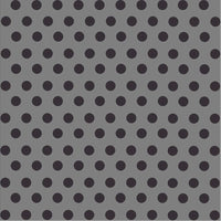 Dark grey with black dot pattern craft  vinyl - HTV -  Adhesive Vinyl -  medium polka dots  HTV1631 - Breeze Crafts