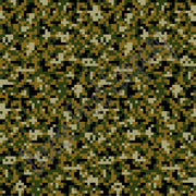 Black, green, brown digital Camouflage craft  vinyl - HTV -  Adhesive Vinyl -  camo army pattern  HTV - Breeze Crafts