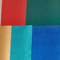 Glitter sticky vinyl Ultra Metallic adhesive outdoor viny sheets FDC 3700 series multiple colors available - Breeze Crafts