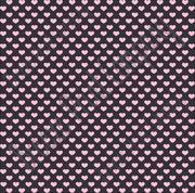 Black with light pink small heart craft  vinyl sheet - HTV -  Adhesive Vinyl -  Valentine's Day HTV3954 - Breeze Crafts