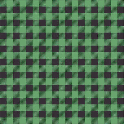 Green and black buffalo plaid craft vinyl sheet - HTV -  Adhesive Vinyl -  lumberjack plaid HTV1808