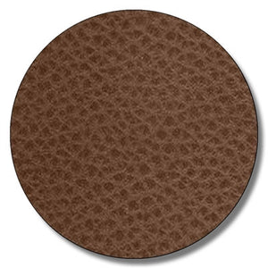 Football leather textured HEAT TRANSFER vinyl sheet brown faux leather 12x15 inch - Breeze Crafts