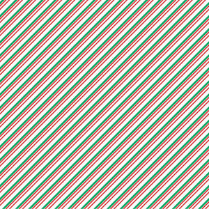 Red, green and white stripe craft  vinyl sheet - HTV -  Adhesive Vinyl -  diagonal stripe pattern Christmas candy cane HTV3020