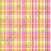 pink, yellow, blue, green, madras plaid, spring plaid, heat tranfser vinyl, adhesive vinyl, patterned vinyl sheets