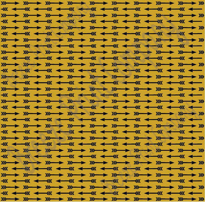 Gold with black arrow pattern craft  vinyl sheet - HTV -  Adhesive Vinyl -  HTV3704 - Breeze Crafts