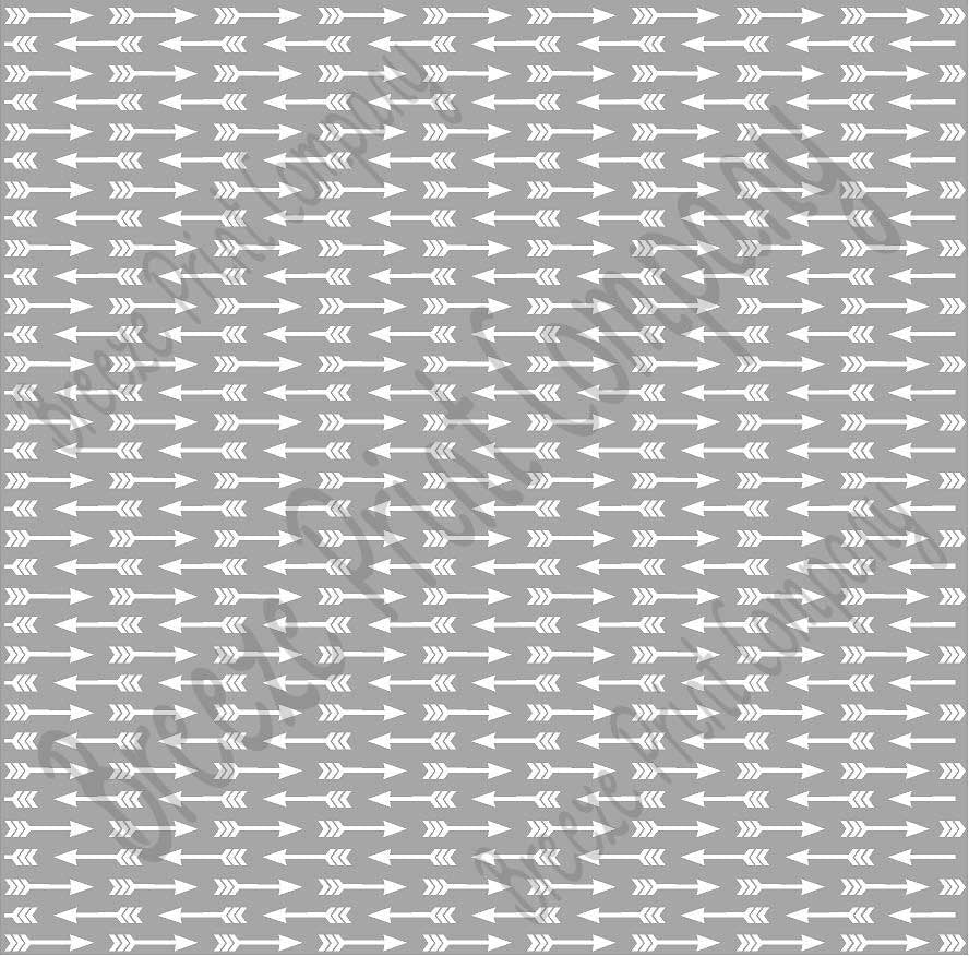 Gray with white arrow pattern craft  vinyl sheet - HTV -  Adhesive Vinyl -  HTV3706 - Breeze Crafts