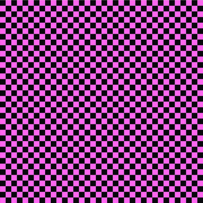 Black and pink checkerboard craft  pattern sheet - HTV -  Adhesive Vinyl -  htv2404 - Breeze Crafts