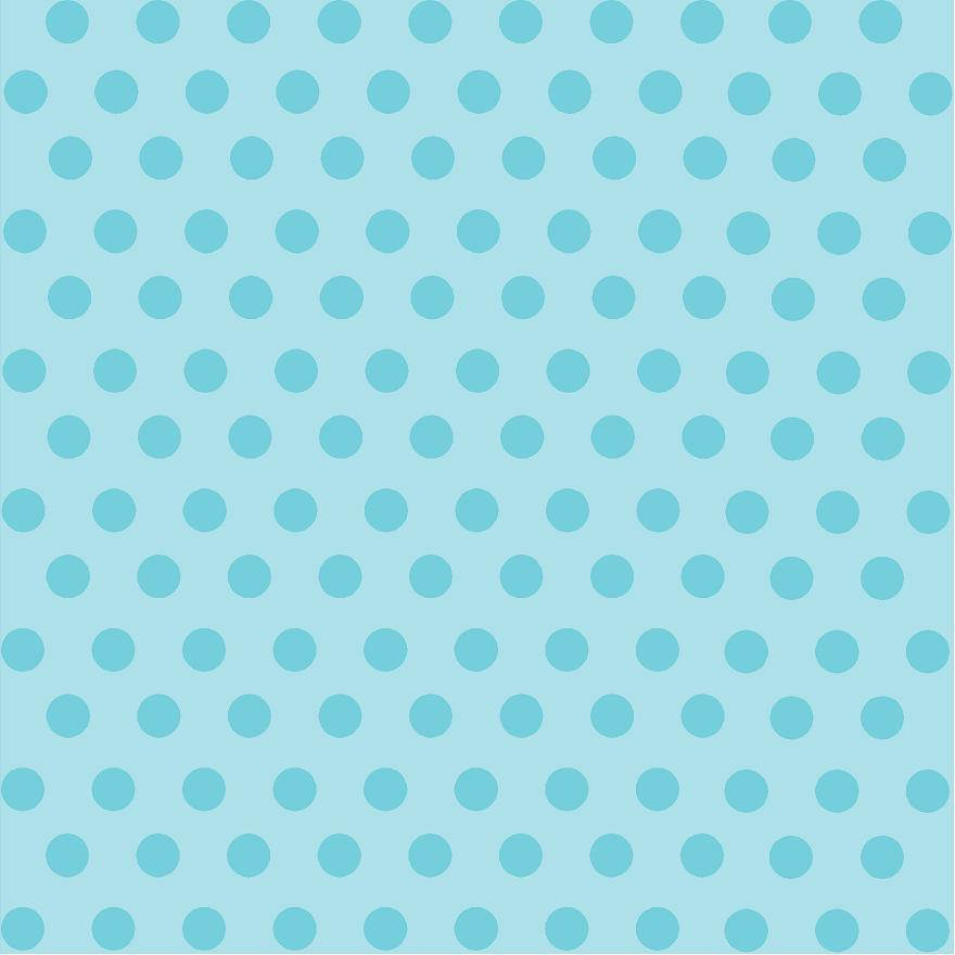 Light aqua with aqua polka dot pattern craft vinyl - HTV -  Adhesive Vinyl -  medium polka dots HTV2334