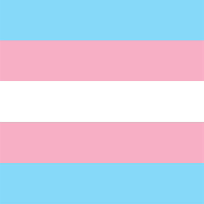Light pink, light blue and white stripe craft vinyl sheet - HTV -  Adhesive Vinyl -  stripe LGBT pattern