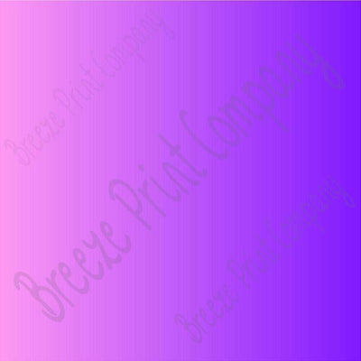 Pink and purple Ombre print craft  vinyl sheet - HTV -  Adhesive Vinyl -  gradient print vinyl  HTV3121