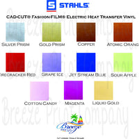 Stahls' CAD-CUT Fashion-FILM Electric Heat Transfer Vinyl 15 inch x 5 yard roll metallic