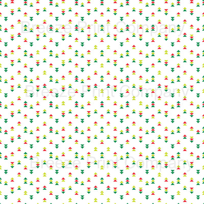 White with dark green, red and lime green triangle pattern craft vinyl sheet - HTV -  Adhesive Vinyl -  tribal Christmas HTV3751