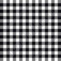 White and black buffalo PLAID craft vinyl sheet - HTV -  Adhesive Vinyl -  lumberjack plaid buffalo check HTV1826