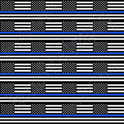 Flag craft  vinyl sheet, HTV, adhesive vinyl pattern black and white with blue line 24 2x3 inch flags per sheet, HTV, adhesive vinyl HTV2803 - Breeze Crafts