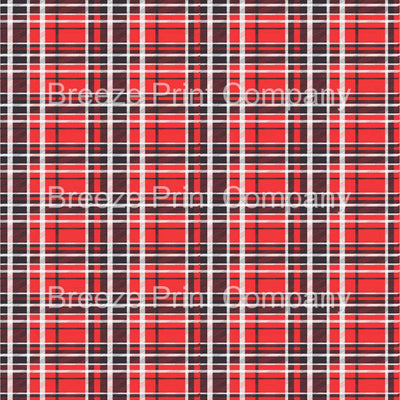 Red, black and white plaid craft vinyl sheet - HTV -  Adhesive Vinyl -  HTV1841