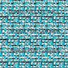 Blue crystal with black stripe pattern printed craft vinyl sheet - HTV -  Adhesive Vinyl -  watercolor gems HTVWC29 - Breeze Crafts