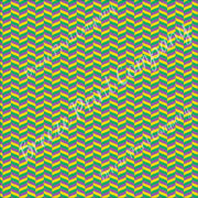 Purple, yellow and green herringbone chevron craft vinyl - HTV -  Adhesive Vinyl -  Mardi Gras  HTV3208