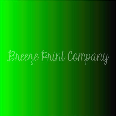 Lime green and black Ombre print craft vinyl sheet - HTV -  Adhesive Vinyl -  gradient print pattern vinyl  HTV3131