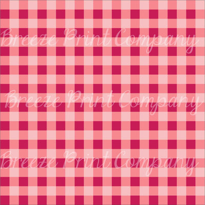 Craft HTV burgundy and light pink buffalo check plaid craft vinyl sheet - HTV -  Adhesive Vinyl -  lumberjack plaid dark red HTV3414 - Breeze Crafts