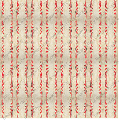Dirty baseball stitches pattern vinyl sheet, craft HTV/heat transfer vinyl or Adhesive Vinyl HTV253 - Breeze Crafts